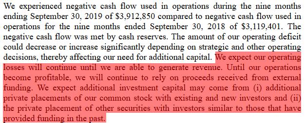 CODX short report going concern