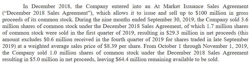 NVAX short report ATM dec 2018