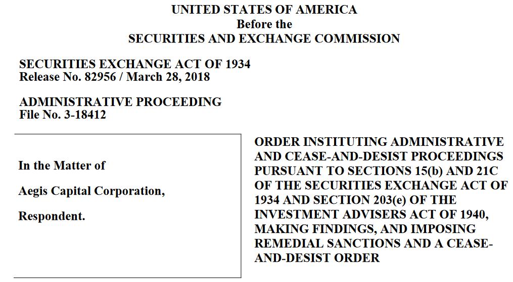 TNXP short report Aegis lawsuit