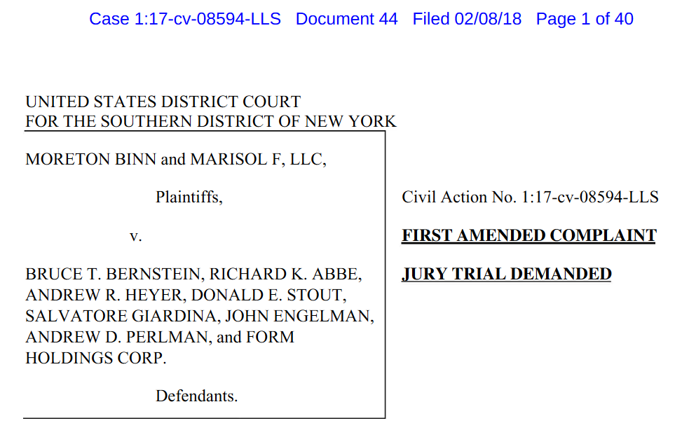 Iroquois Capital Management LLC RIchard K. Abbe XSPA lawsuit