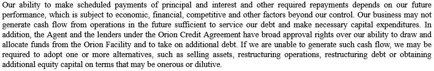 FCEL debt issues